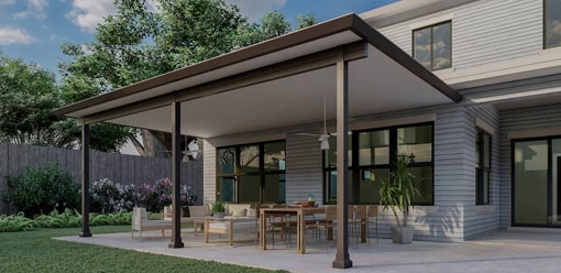 Insulated Aluminum Patio Roof Moderno