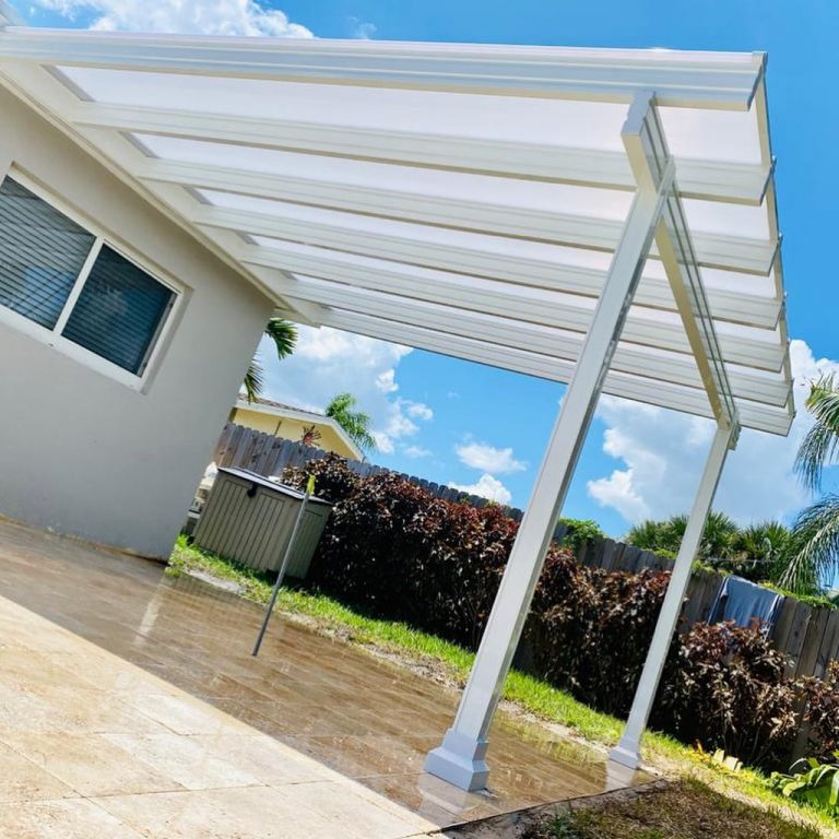 Translucent Patio Roof Panels White