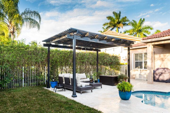Freestanding Aluminum Pergola Renaissance Patio Florida