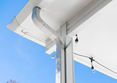 Moderno Gutter Downspout Connection