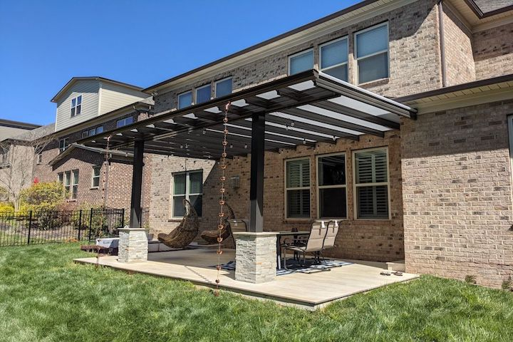 Fresco Translucent Fresco Patio Cover Renaissance Patio Products Roanoke Virginia